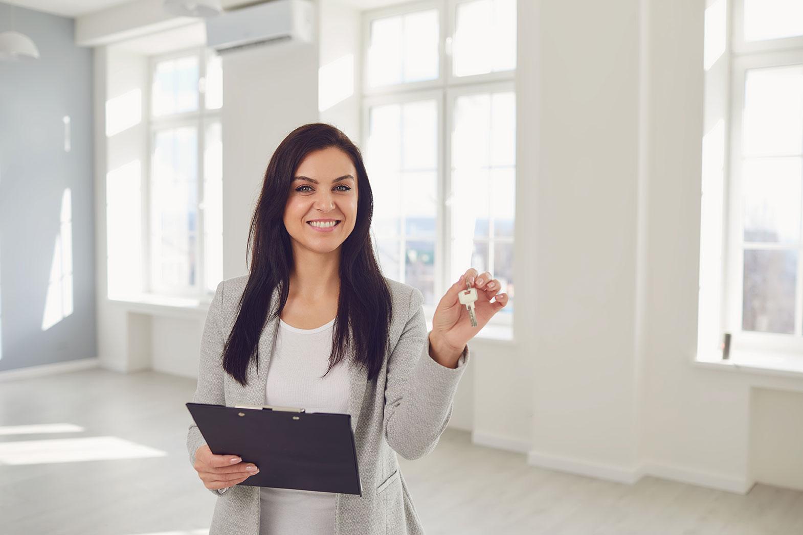 negociateur immobilier femme