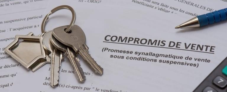 Formulaire de compromis de vente